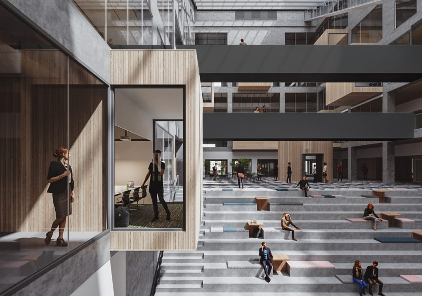 Keväällä 2020 valmistuva Turun ammattikorkeakoulun EduCity-rakennus on mobiilin kulunvalvonnan toteutuksessa edelläkävijä Suomessa.