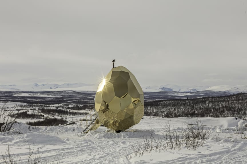 Solar Egg, Riksbyggen, Kiruna