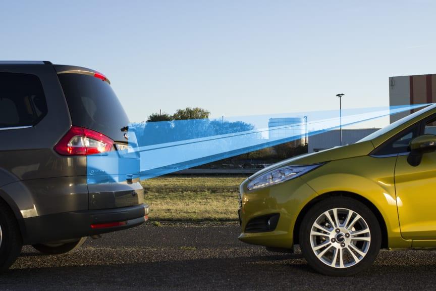 Ford introducerar Active City Stop i nya Ford Fiesta