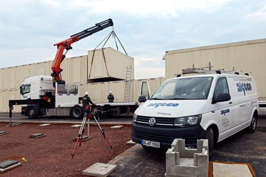 Container für Baustellen