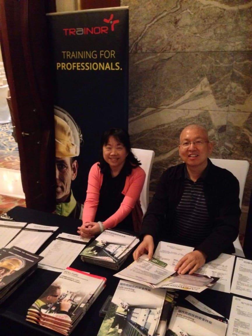 Helen Deng and Yi Shijun