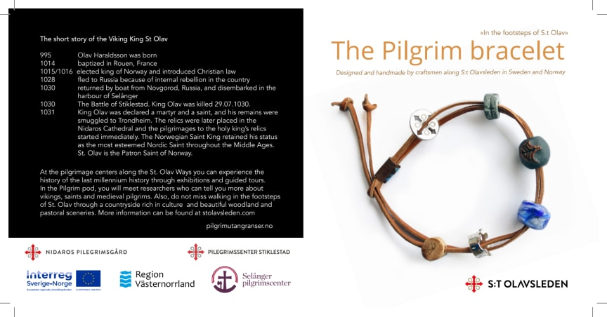Broschyr om Pilgrimsarmbandet
