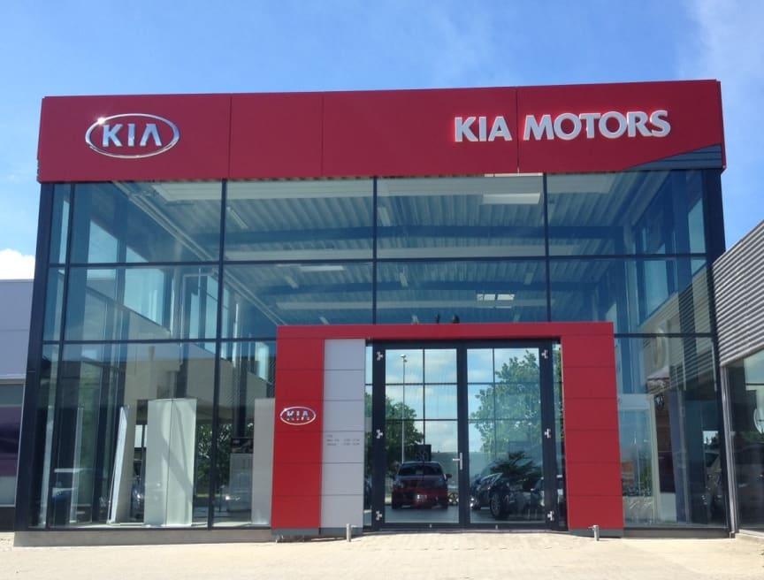 KIA facade