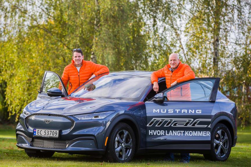 Ford Mustang Mach-E rekkeviddetest 2021 høst