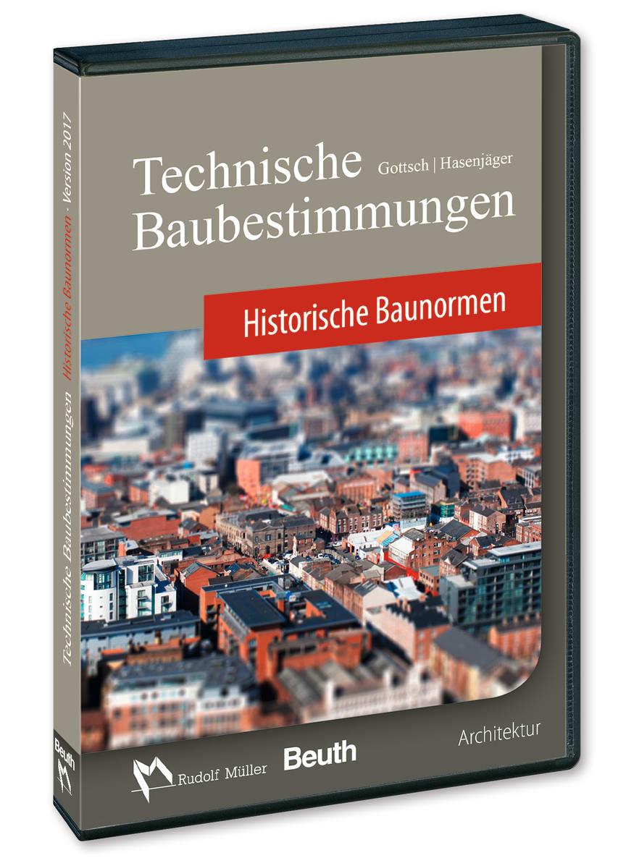 Technische Baubestimmungen – Historische Baunormen (3D/tif)