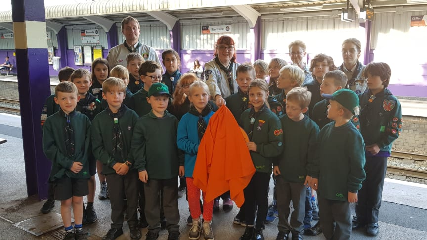 1st Bournville Scouts Cross City Heroes unveiling