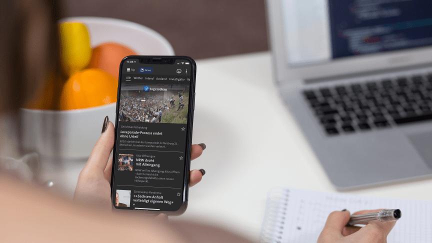 Presse tagesschau-App 3.0
