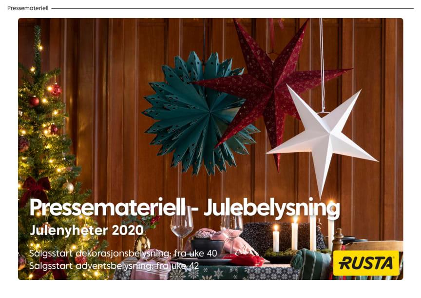 Pressemateriell - Julebelysning 2020