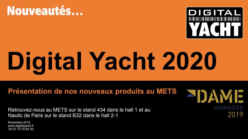Retrouvez Digital Yacht au METS