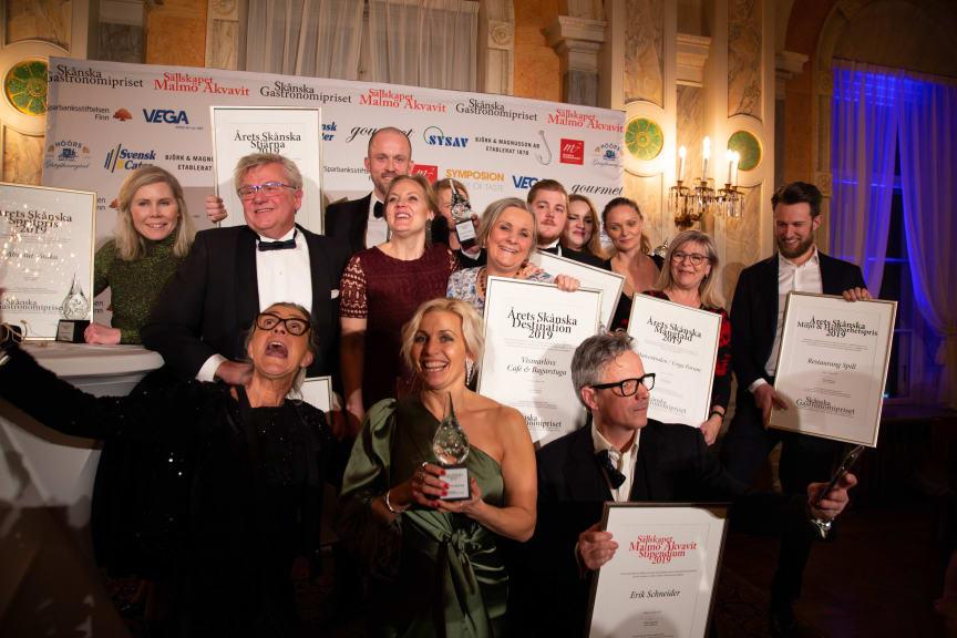 Vinnarna Skånska Gastronomipriset 2019