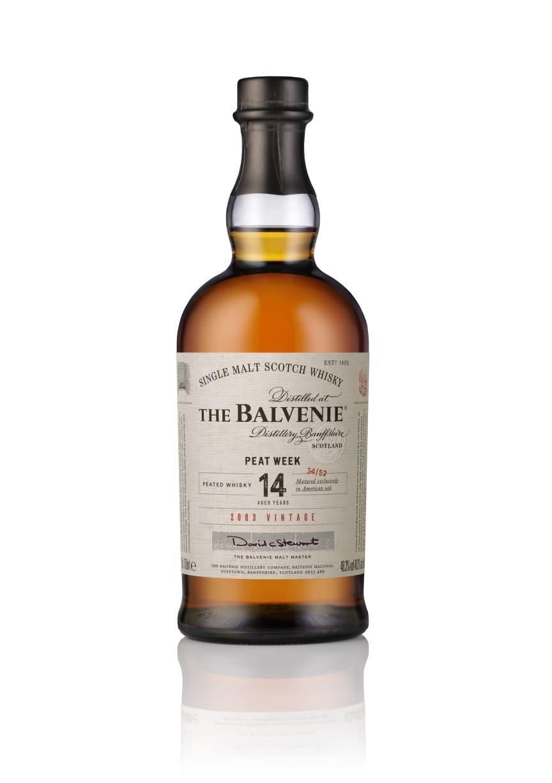The Balvenie Peat Week 14 years (2003 vintage) Bottle