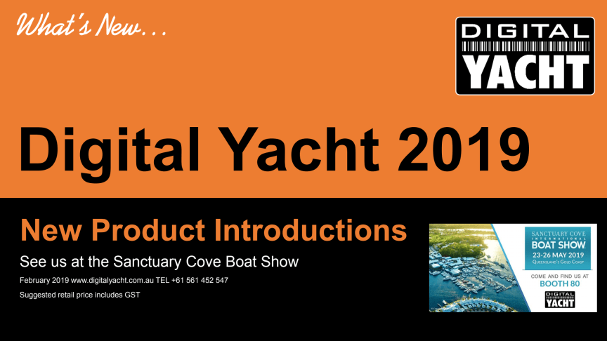 Digital Yacht at Sanctuary Cove Boat Show 2019