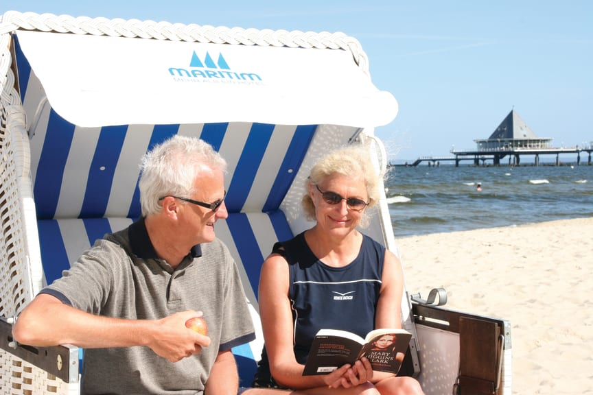 """Perfect """"timeout"""" at the Baltic Sea."""
