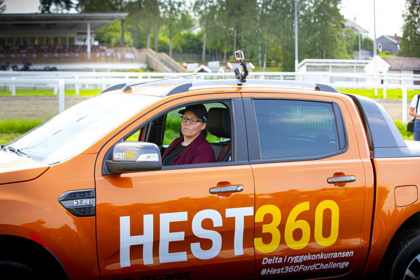 Hest360FordChallenge Ryggekonkurranse Øvrevoll 25.08 2019 Anne Lene Øysæd, Sandnes Rogaland