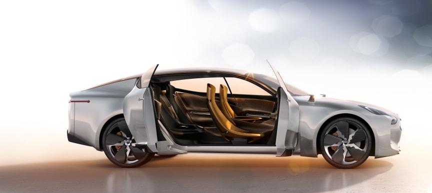 GT Concept var et drømmeprojekt for Peter Schreyer - en ægte GT med masser af stil