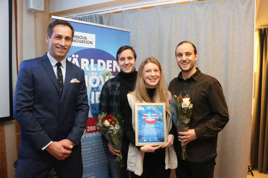 Harvest Umeå vinner Energy Solution Challenge