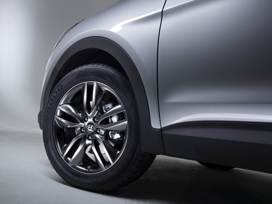 Ny Hyundai Santa Fe - Alufelger