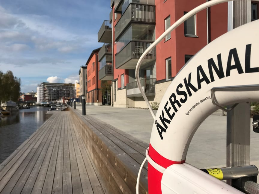Åkers kanal och Kanalstaden