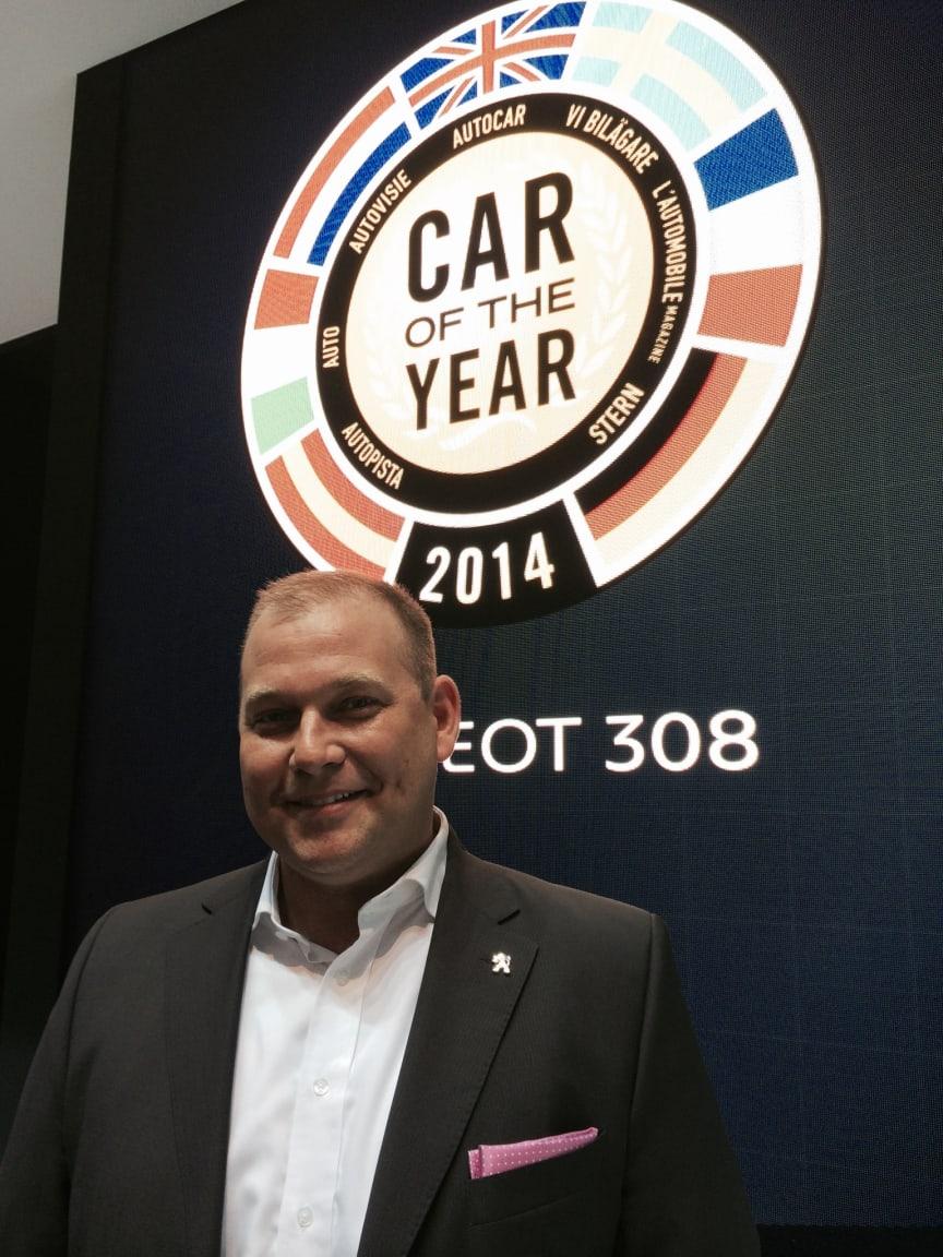 Henrik Wiberg VD Peugeot Sverige