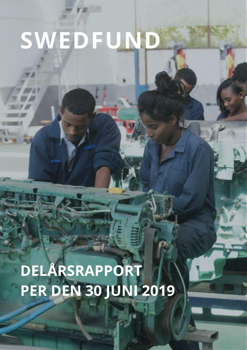 Swedfund delårsrapport april-juni 2019