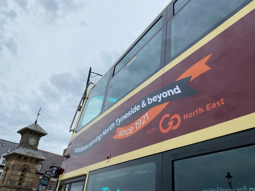 100th anniversary of the first motorbus service between North Shields and Blyth