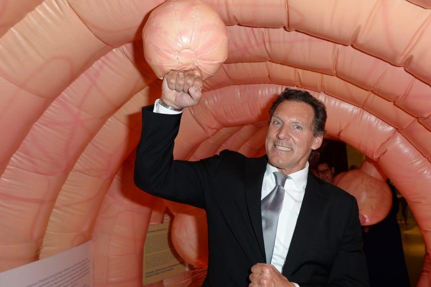 Schauspieler Ralf Moeller gegen Darmkrebs