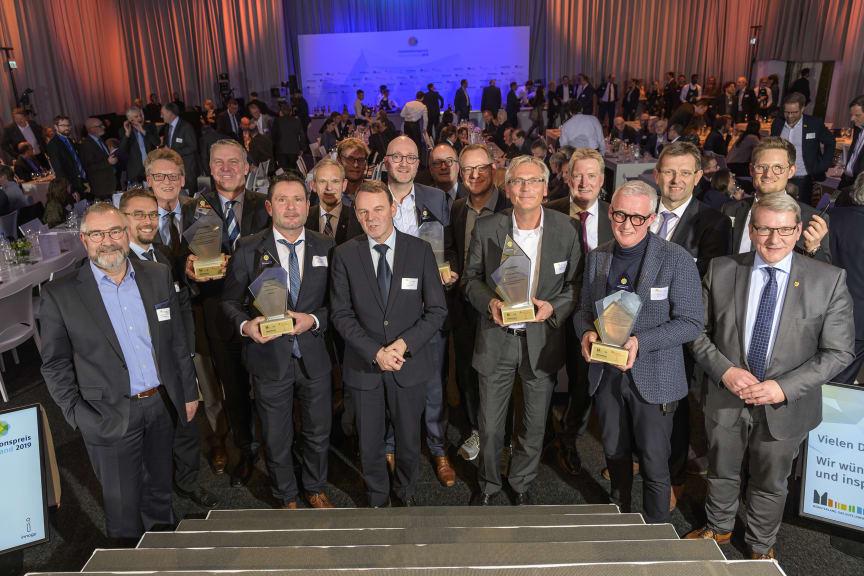 Preisträger Innovationspreis Münsterland 2019
