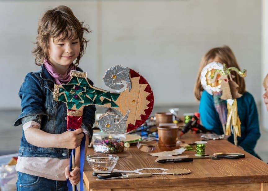 Ferie for børn pressefoto Moesgaard Museum