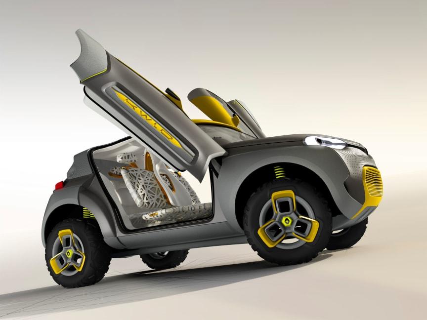 Renaults konceptbil KWID Concept