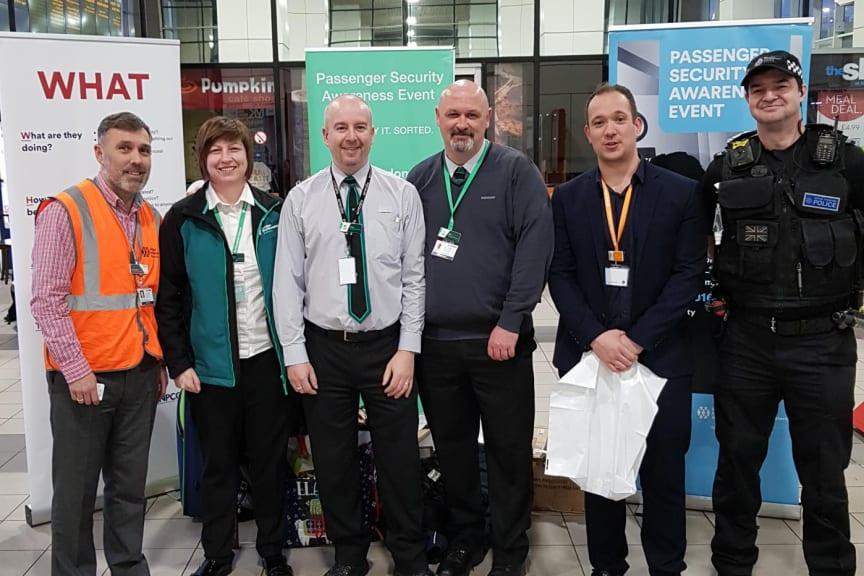 Passenger security awareness at stations