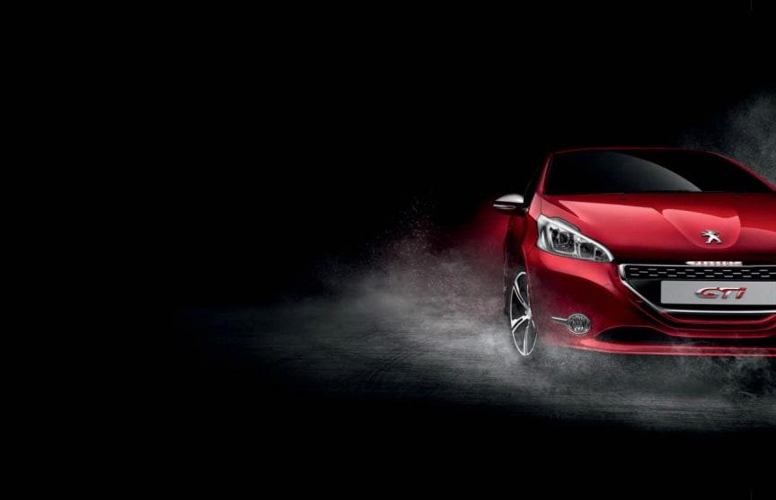 Sverigepremiär för Peugeot 208 GTi - komprimerad körglädje