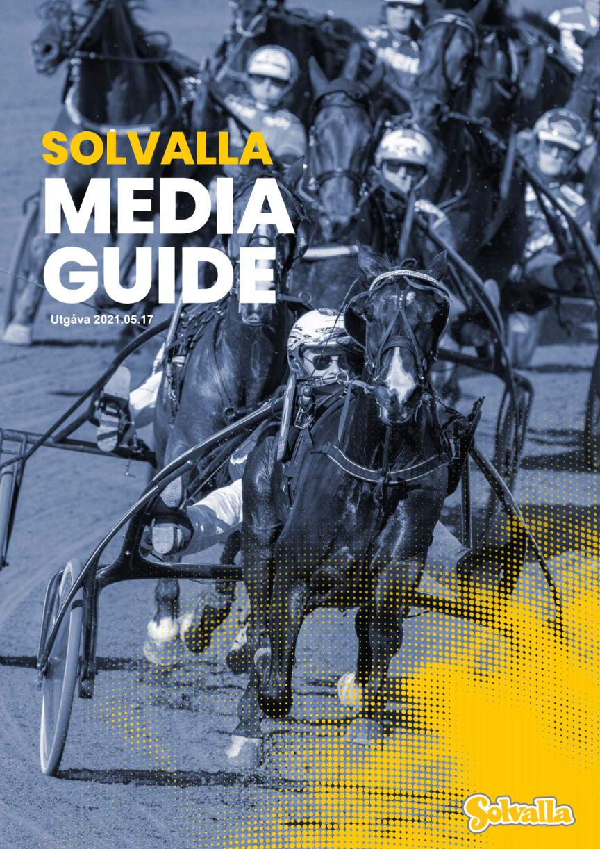 Solvalla Mediaguide 2021