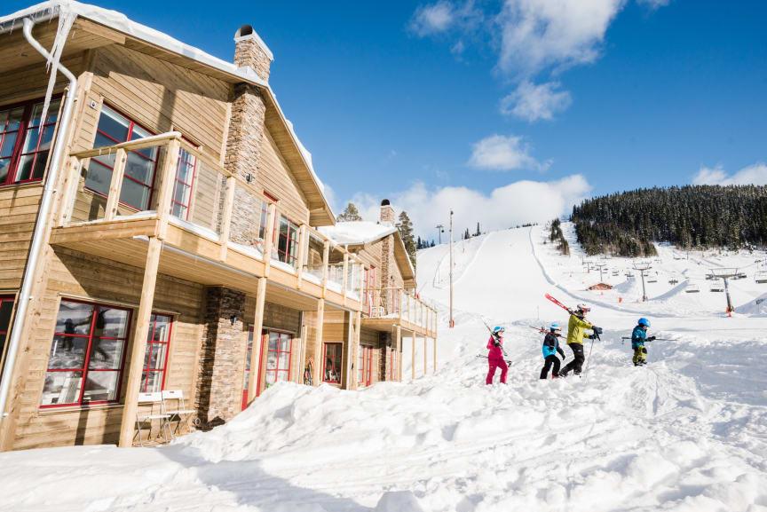 Ski-in Ski-out i Kläppen