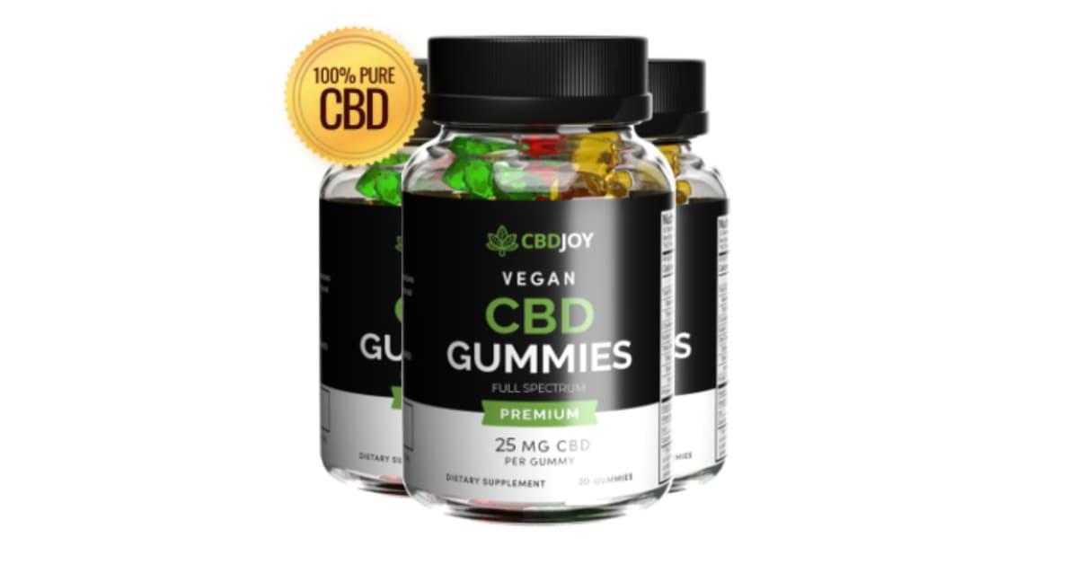 CBD Joy CBD Gummies Reviews: Shocking Price of CBD Joy Vegan CBD Gummies-  Shark Tank Warning!!! | iExponet