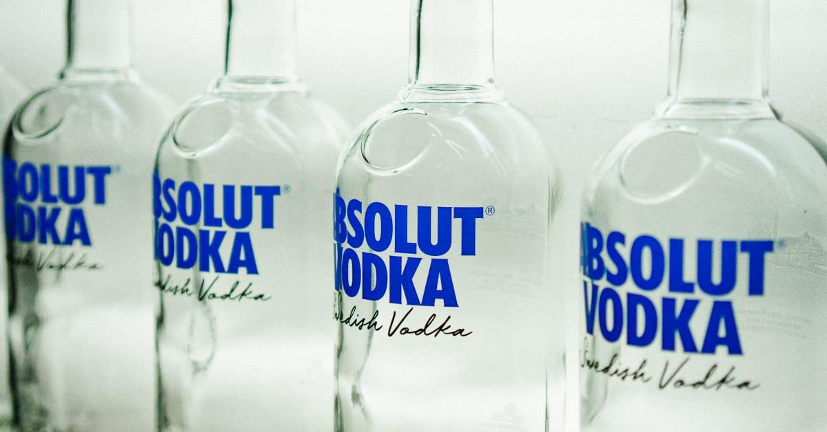 Absolut Vodka lanserar sig största designförändring på över 40 år