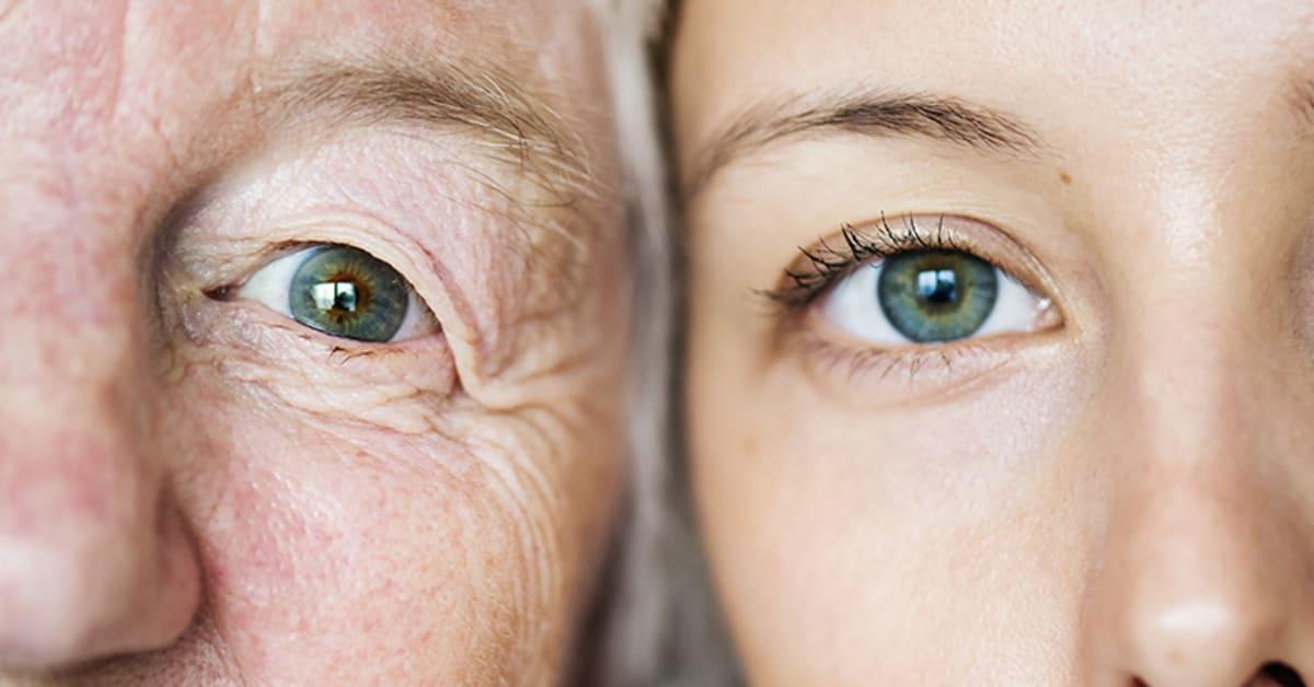 Augen grüne oder blaue Kann man