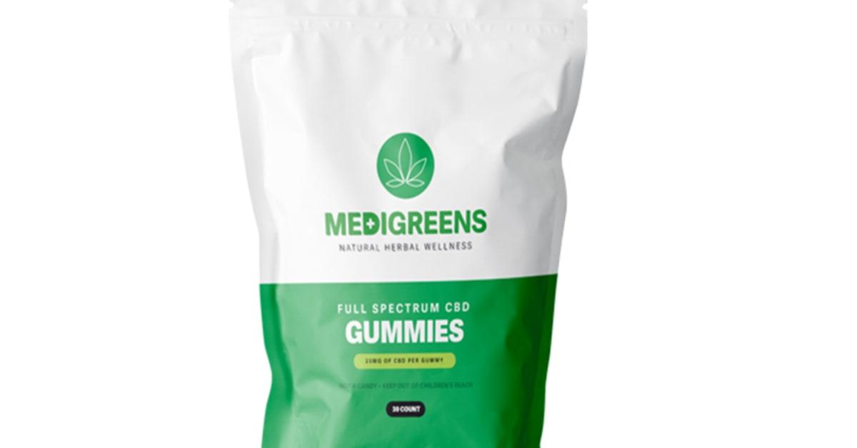 Medi Greens CBD Gummies Reviews and Medigreens CBD Oil Price Updated 2021 |  iExponet