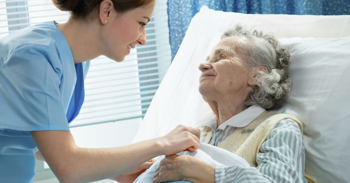 Care For The Elderly In A Health Center