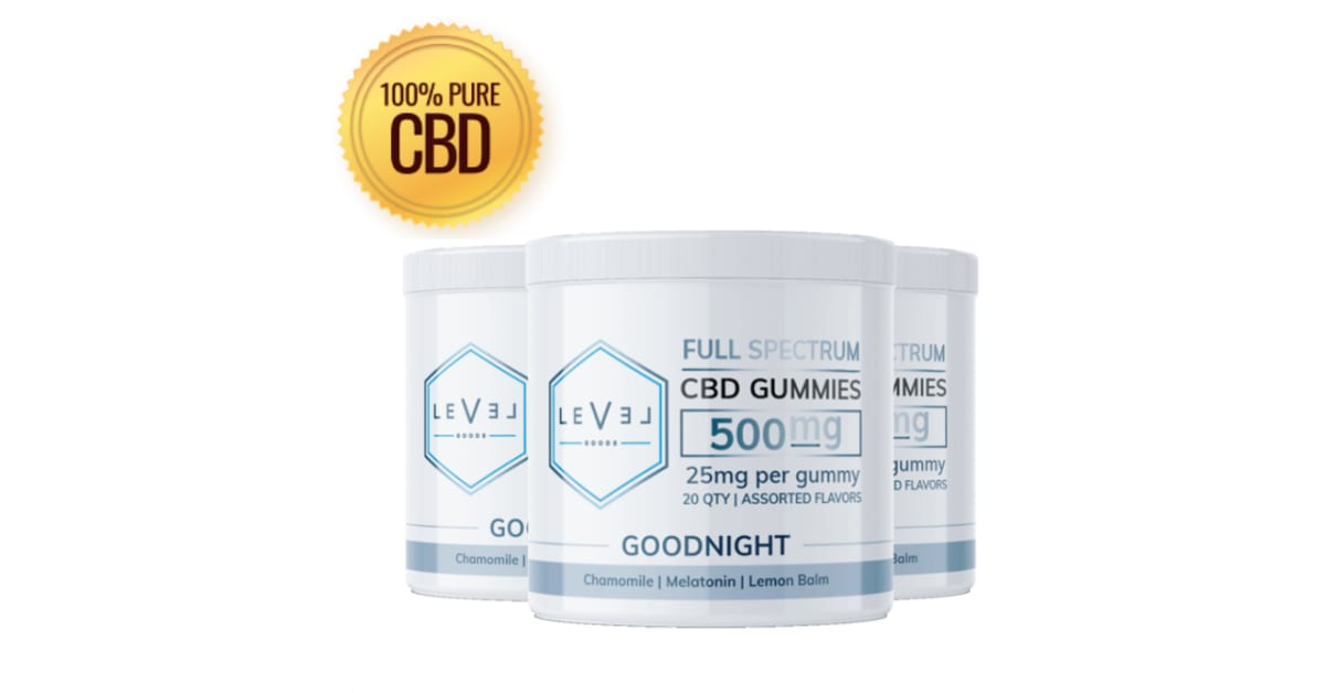 Level Goods CBD Gummies Reviews: [Warning] Price of Full Spectrum 500 mg    iExponet