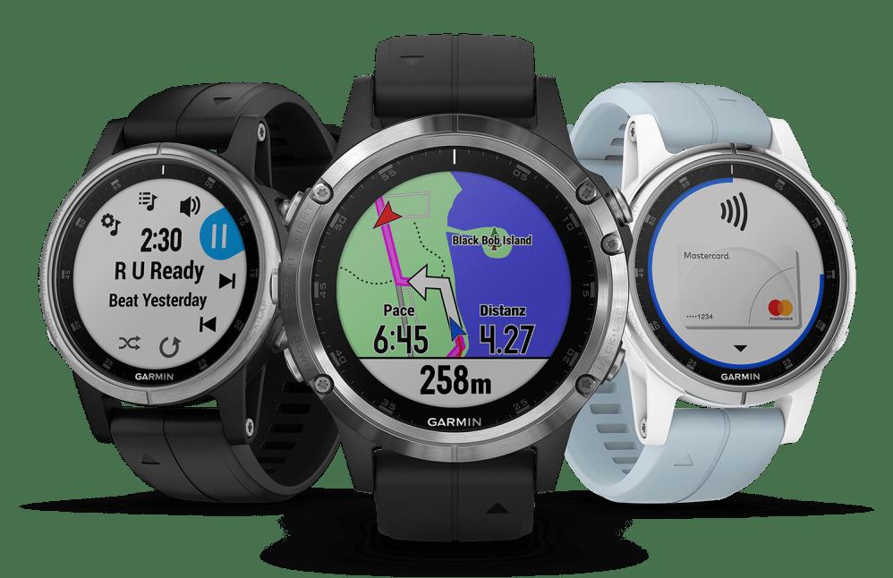 5 Plus Smartwatch Für Moderne Fēnix SerieDie Garmin Sport yb76fYg