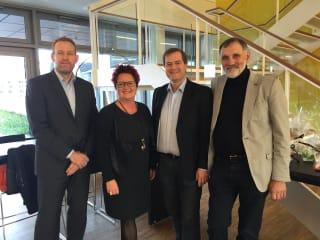 Folketingspolitiker Karin Gaardsted (S) besøger EnergiMidt