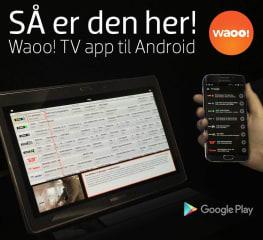 Waoo! Web TV – nu også på Android