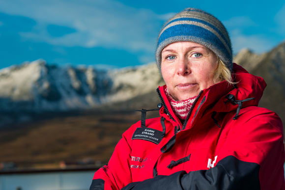 Hurtigruten names polar pioneer Karin Strand (48) as godmother to the world's first hybrid powered cruise ship, MS Roald Amundsen