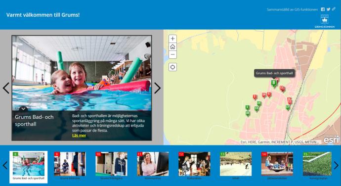 karta över grums Grums kommun lanserar nya interaktiva kartor   Grums kommun karta över grums