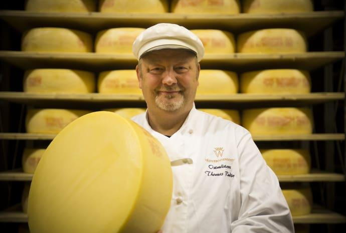 Master Cheesemaker Thomas Rudin