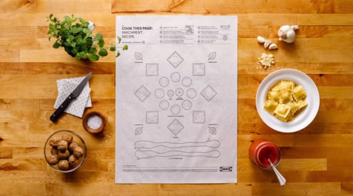 Ikea S Cookbook Cooks Your Food For You Swedbrand Group