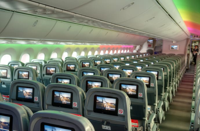 Image result for norwegian air 787 cabin