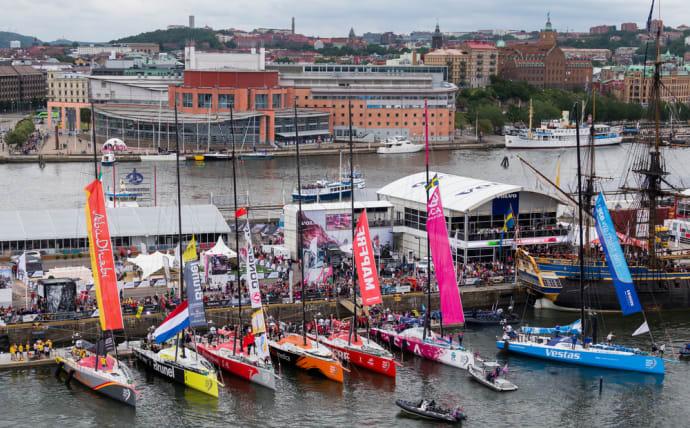 volvo ocean race karta Volvo Ocean Race till Götebi juni 2018   Göteb& Co volvo ocean race karta