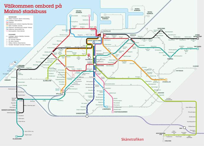 skånetrafiken karta Nu säljer Skånetrafikens ombud förköpsbiljetter för stadsbuss  skånetrafiken karta