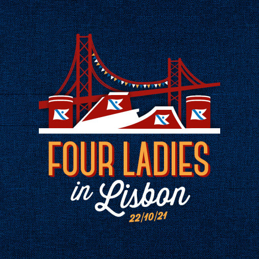 Fred. Olsen Cruise Lines' Four Ladies in Lisbon (October 2021)